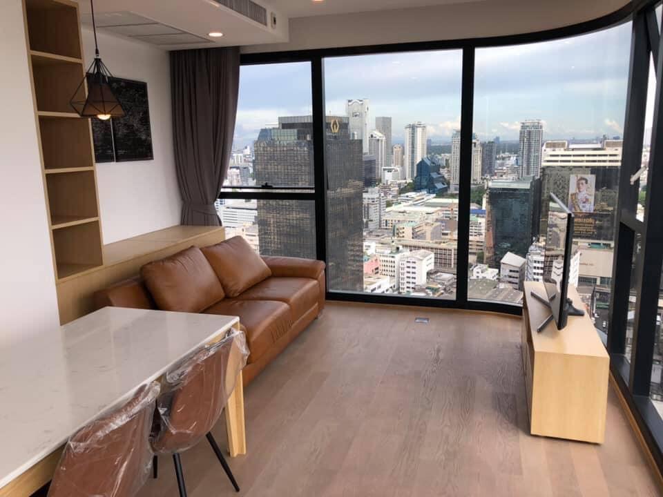 Ashton Chula Silom - 2 bed 1 bath - floor 31