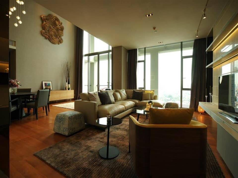 The Sukothai Residences - 2 bed 2 bath - floor 19