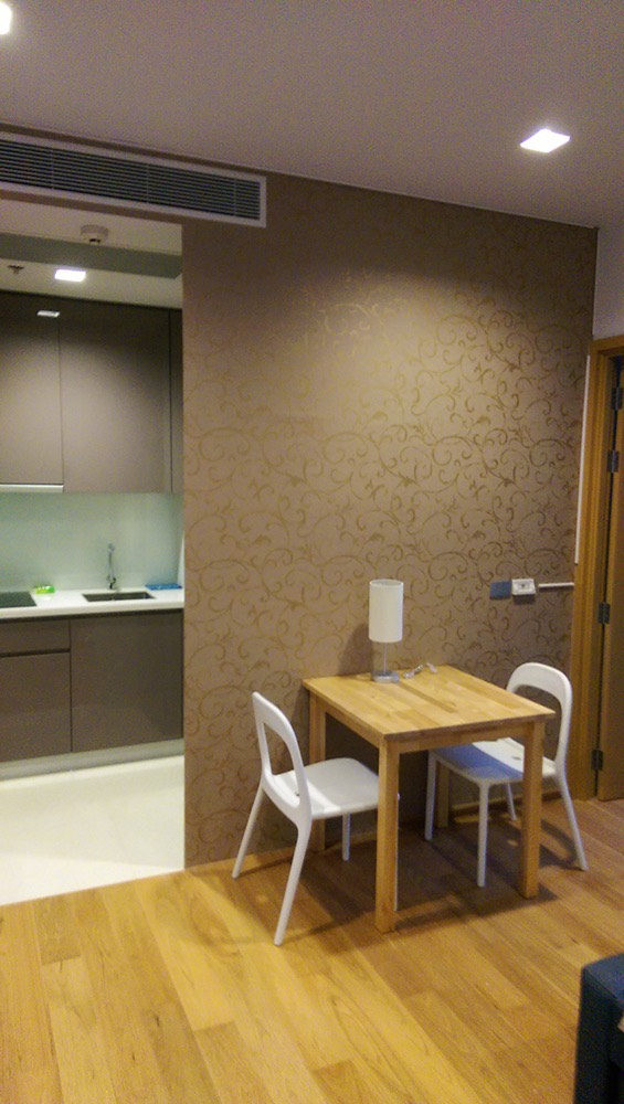 Overview Living TV Area.jpg Bedroom with View.jpg Dining and Entrance Kitchen Area.jpg Kitchen with Cooker Hob Hood Washing Machine Microwave.jpg Overview Living TV Area - Side View.jpg