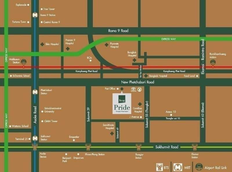 Map Niche Pride Floor 6