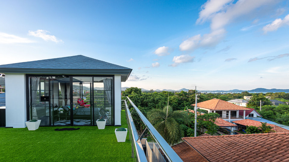 Rooftop with View - Villa Hotel Rawai Phuket - 7 beds 7.5 baths