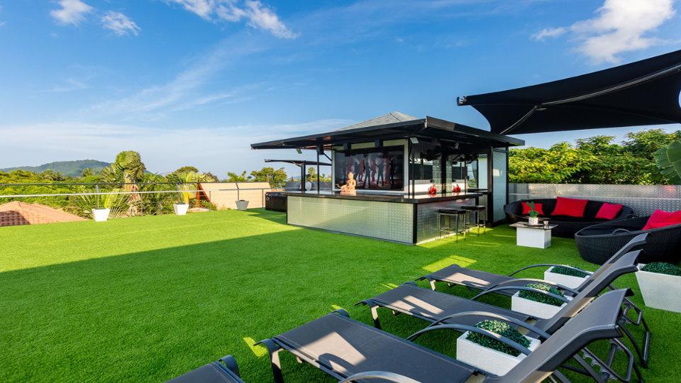 Rooftop Bar CloseUp - Villa Hotel Rawai Phuket - 7 beds 7.5 baths