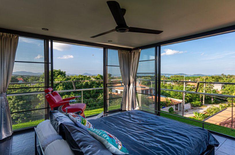 Rooftop Sala Bedroom 1 - Villa Hotel Rawai Phuket - 7 beds 7.5 baths