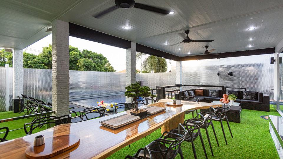 Dining Area CloseUp - Villa Hotel Rawai Phuket - 7 beds 7.5 baths