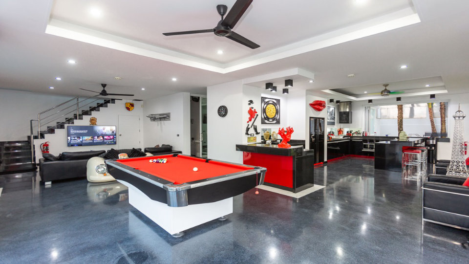 Game Room View - Villa Hotel Rawai Phuket - 7 beds 7.5 baths