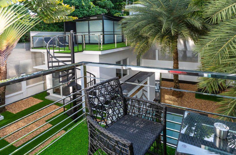 Sitting Area - Villa Hotel Rawai Phuket - 7 beds 7.5 baths