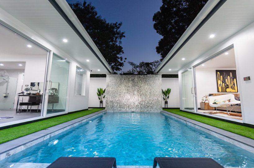 Pool Area - One-Story Pool Villa Rawai 4 beds 4 baths