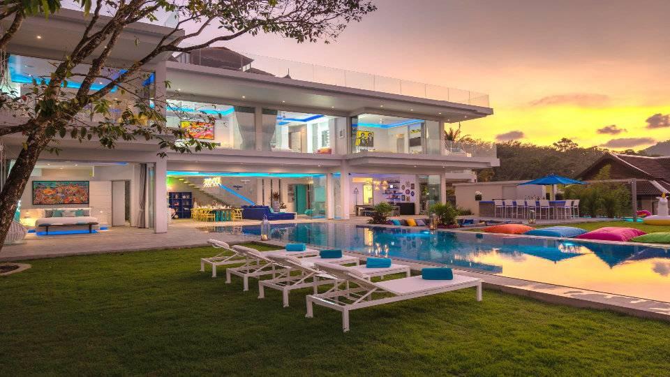 Terrace Pool - Villa Enjoy Patong Beach Phuket