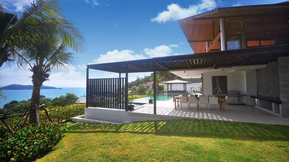 Side View Villa