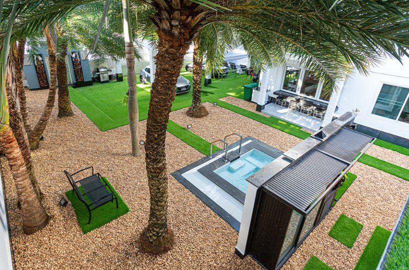 Top View Community Area - Villa Hotel Rawai Phuket - 7 beds 7.5 baths