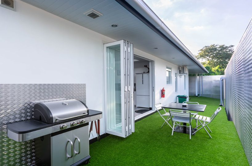 BBQ Area - One-Story Pool Villa Rawai 4 beds 4 baths
