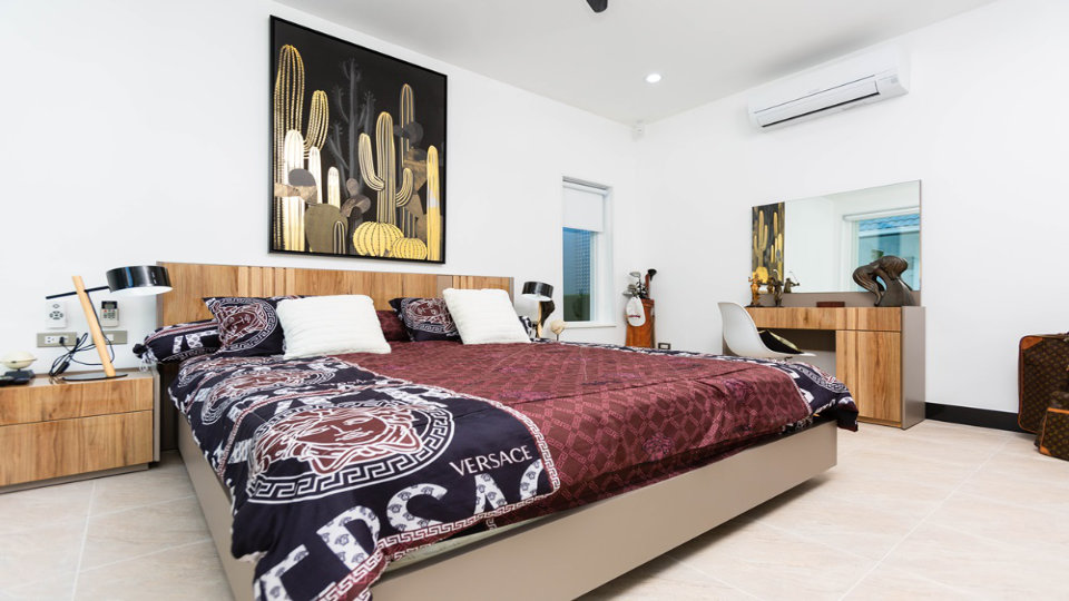 Bedroom 2 Front - One-Story Pool Villa Rawai 4 beds 4 baths