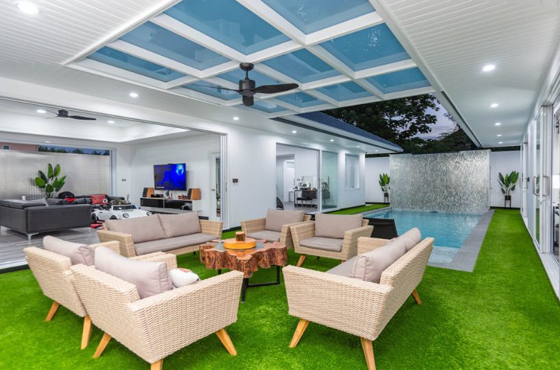 Outdoor Sitting Area View - One-Story Pool Villa Rawai 4 beds 4 baths