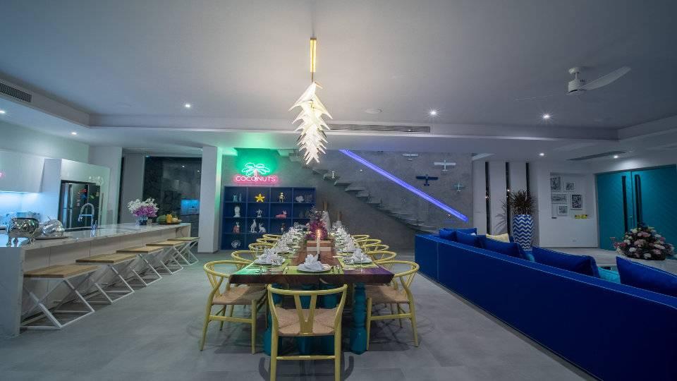 Large Dining Table - Villa Enjoy Patong Beach Phuket