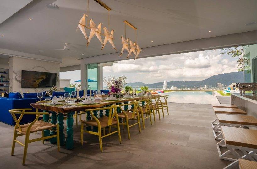 Dining Table - Villa Enjoy Patong Beach Phuket