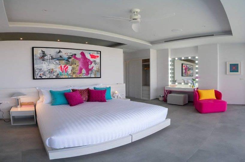 Bedroom Pink - Villa Enjoy Patong Beach Phuket