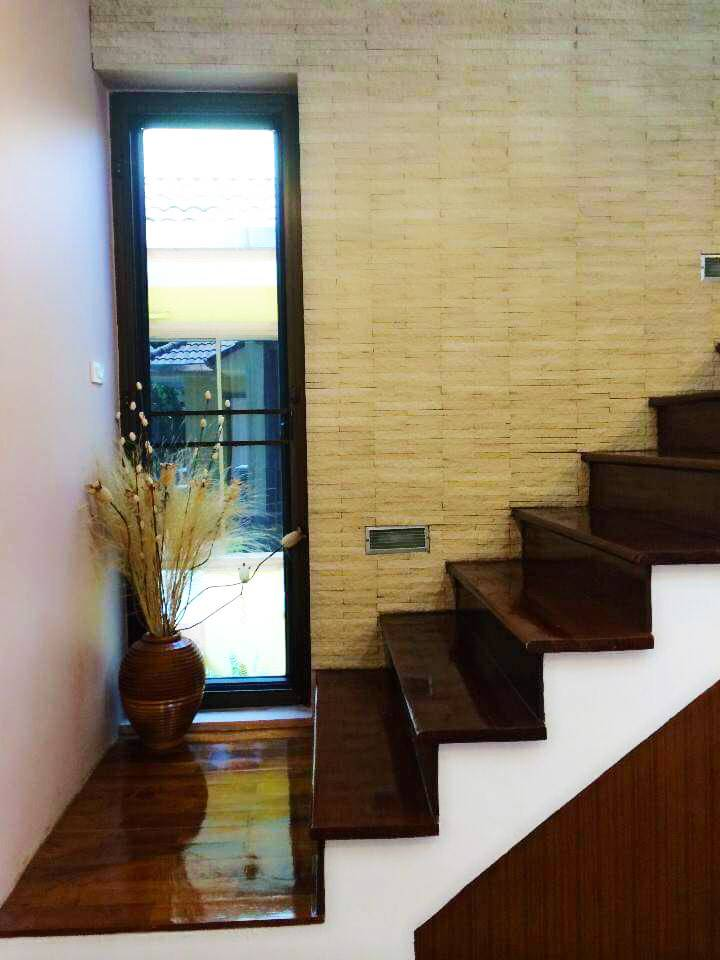 Staircase to Elevated Office Space