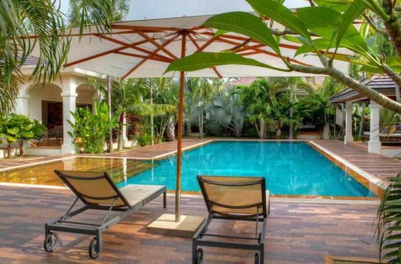 Swimming Pool View - Villa NamChai Rawai
