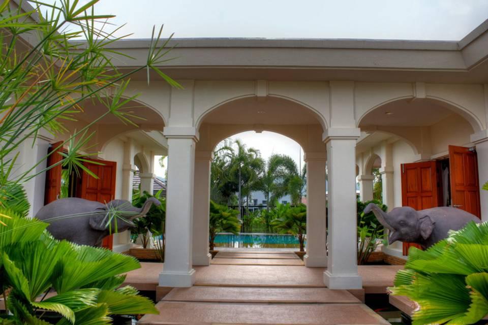 Entrance - Villa NamChai Rawai