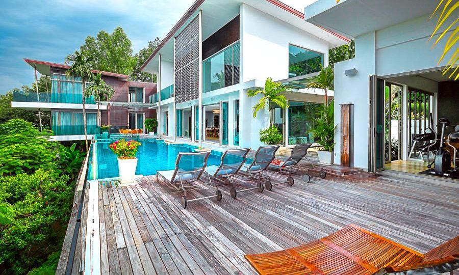 Pool Deck Terrace - Villa Dao Tiem
