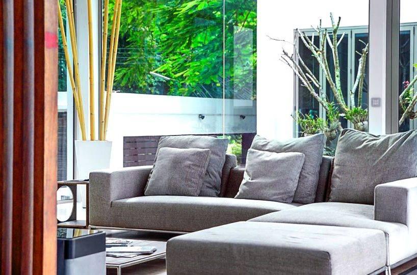 Living Close Up - Villa Dao Tiem