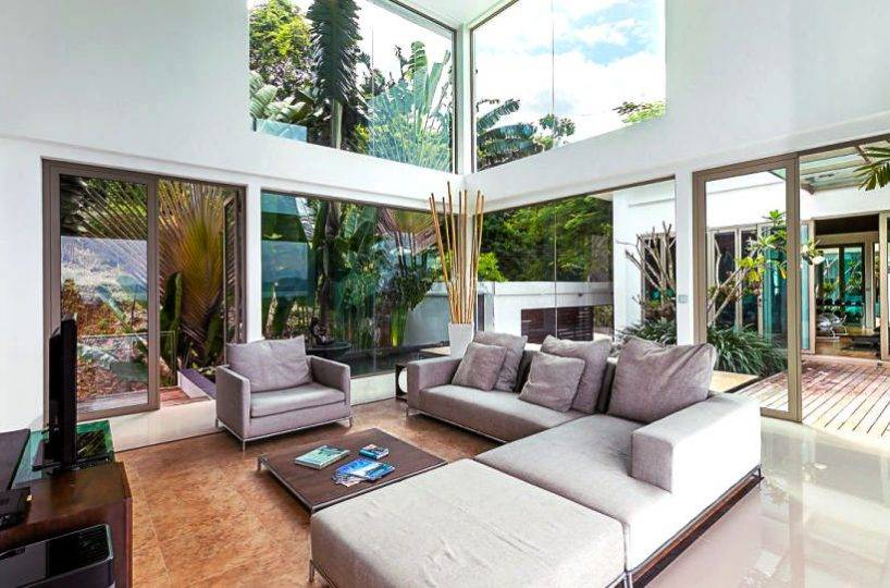 Living Overview - Villa Dao Tiem