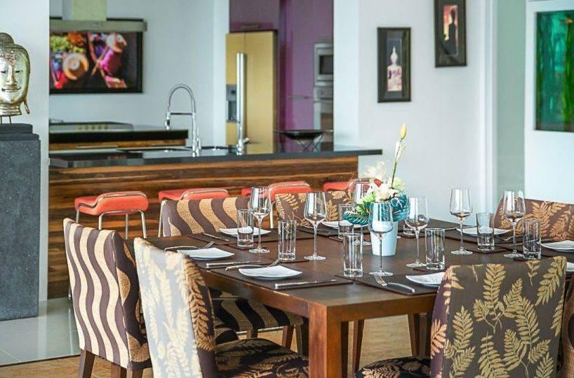 Dining and Kitchen - Villa Dao Tiem