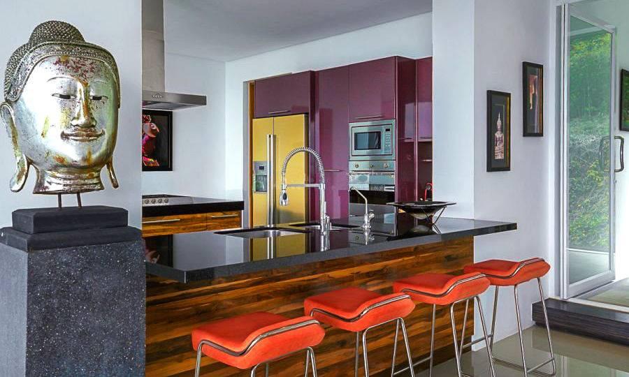 Kitchen - Villa Dao Tiem