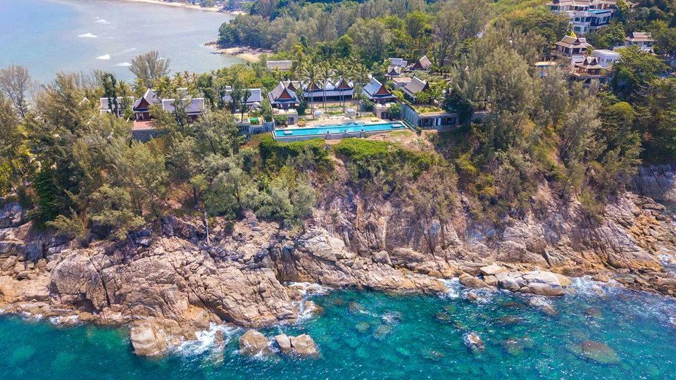 Rock-side Villa in Kamala